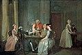 Francis Hayman (1708-1776) - Playing at Quadrille - 1955P118 - Birmingham Museums Trust.jpg