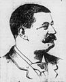Frank B. McStocker, Advertiser sketch, 1895.jpg