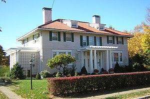 Frank Burgess House - Image: Frank Burgess House Quincy MA