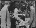 Franklin D. Roosevelt, Henry Morgenthau Jr., and a boy - NARA - 196112.tif
