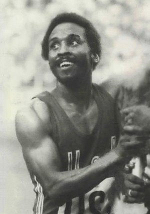 Fred Newhouse - Newhouse at the 1976 Olympics