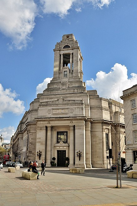 Freemasons Hall, London, home of the United Grand Lodge of England Freemasons' Hall, London.JPG