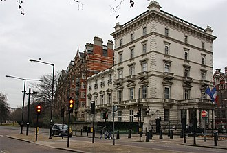 Embassy of France, London - Image: French Embassy geograph.org.uk 645453