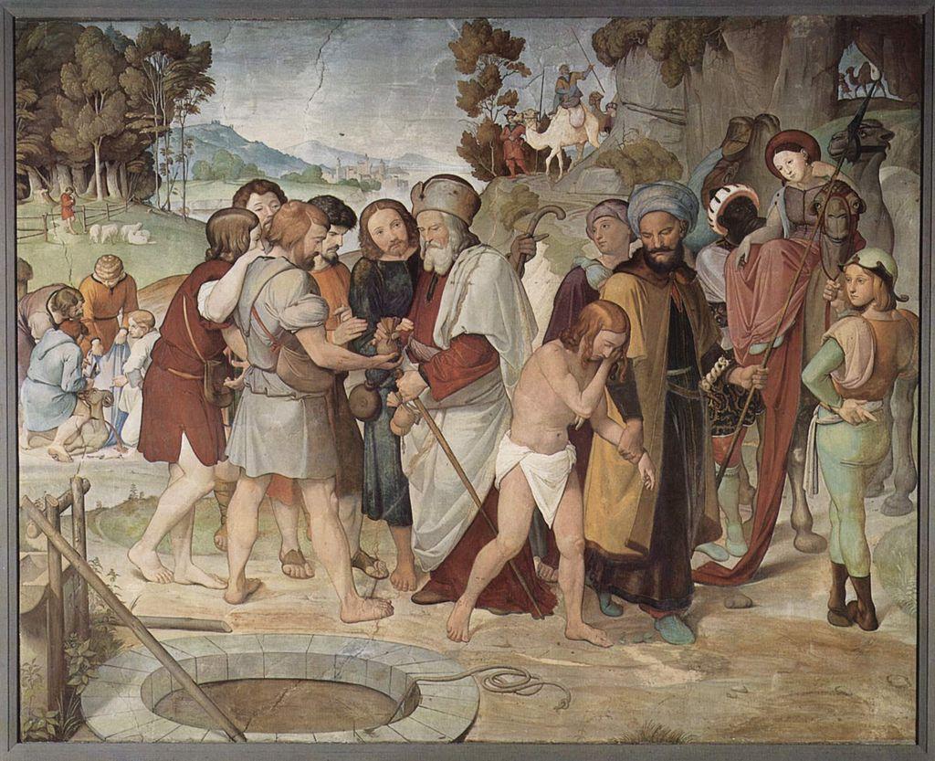 형제들에 의해 팔려가는 요셉 (프리드리히 오버벡, 1816~1817년)