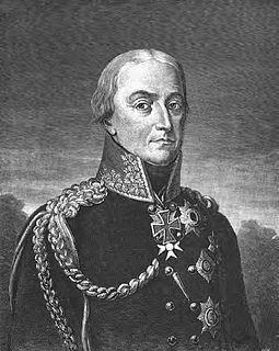 Friedrich Wilhelm Freiherr von Bülow Prussian general of the Napoleonic Wars