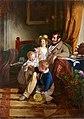 Friedrich von Amerling - Rudolf von Arthaber und seine Kinder Rudolf, Emilie und Gustav - 2245 - Österreichische Galerie Belvedere.jpg