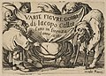 Frontispiece, from Varie Figure Gobbi, suite appelée aussi Les Bossus, Les Pygmées, Les Nains Grotesques (Various Hunchbacked Figures, The Hunchbacks, The Pygmes, The Grotesque Dwarfs) MET DP818528.jpg