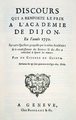 Frontispiece of Jean-Jacques Rousseau's Discourse on the Arts and Sciences, 1750.png