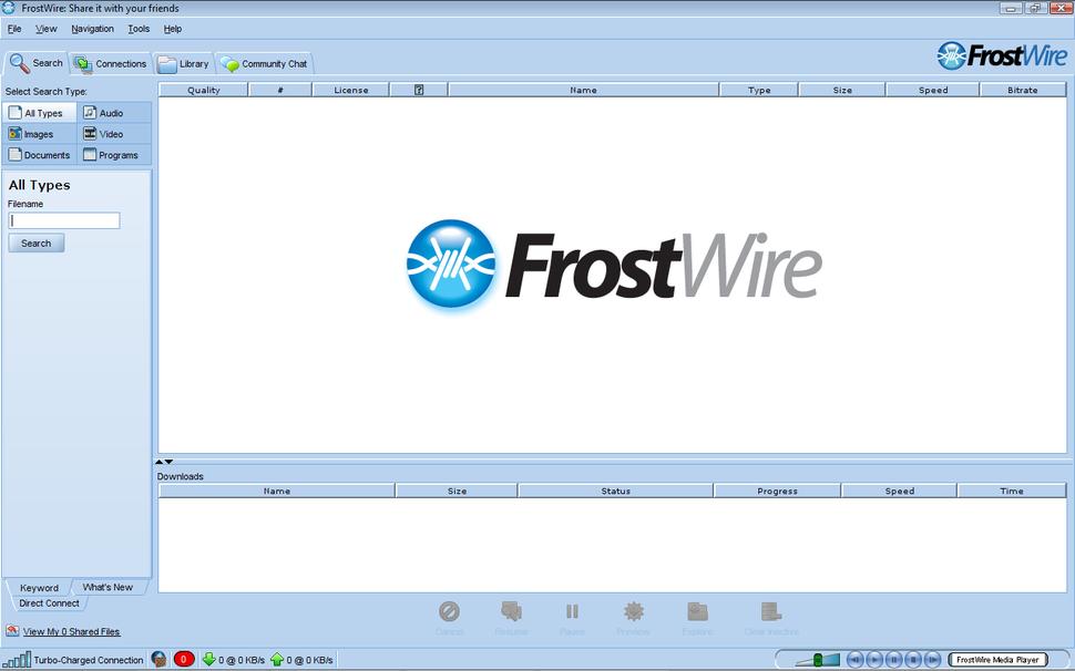 FrostWire-Vista