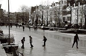 Frozen Prinsengracht