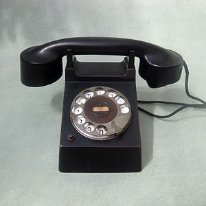 "Deutsch: Telefon Modell ""Frankfurt"" ..."