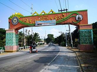 San Ildefonso, Bulacan - Welcome arch