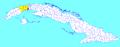 Güira de Melena (Cuban municipal map).png