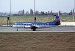 G-AZNA V Viscount BMA BHX 09-04-86 (33778219101).jpg