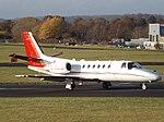 G-JBLZ Cessna Citation Bravo 550B Xclusive Jet Charter Ltd (30973963132).jpg