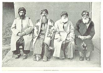 Sheikh - Kurdish sheikhs, 1895
