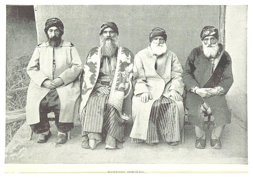G1895 pg006 KURDISH SHEIKHS