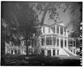 GENERAL VIEW, FROM SOUTHWEST - John Cuthbert House, 1203 Bay Street, Beaufort, Beaufort County, SC HABS SC,7-BEAUF,18-2.tif
