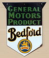 GM product, Bedford, enamel advert sign at the den hartog ford museum pic-094.JPG