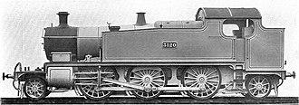 GWR 5100 Class - Image: GWR 3120 Prairie locomotive (Howden, Boys' Book of Locomotives, 1907)