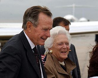 Two Bad Neighbors - George H. W. Bush and his wife had a feud with The Simpsons that eventually led to this episode.