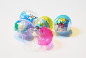 Gashapon - Gashapon capsules