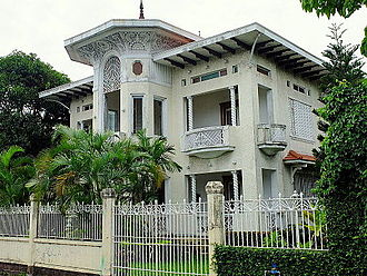 Gala–Rodriguez Ancestral House - Gala–Rodriguez House facade