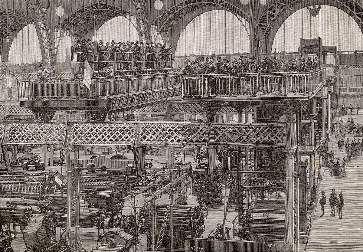 Galerie des machines. Les ponts roulants.jpg