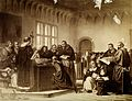 Galileo Galilei at his trial Wellcome V0018717.jpg