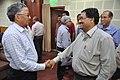 Ganga Singh Rautela Meets With His Workmates - NCSM - Kolkata 2016-02-29 1755.JPG