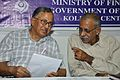 Ganga Singh Rautela and Naba Kumar Bhattacharya - Savings Fortnight Celebrations - NCSM - Kolkata 2014-11-13 9113.JPG