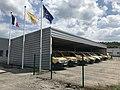 Garage des véhicules postaux à Clairvaux-les-Lacs.JPG