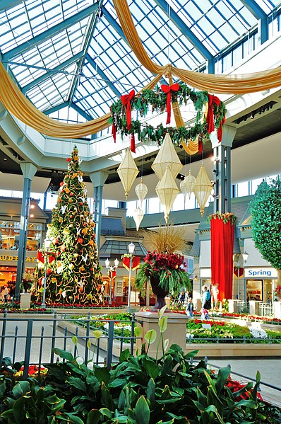 File:Garden under Christmas ambience - panoramio.jpg