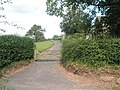 Gate just before St Michael, Stanton Long - geograph.org.uk - 1446656.jpg