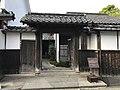 Gate of former residence of Kubota Family.jpg