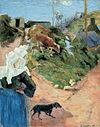 Gauguin Bretonnes au Tournant d'une Route.jpg