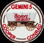 Missionsemblem Gemini 5