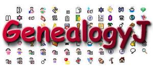 GenealogyJ - Image: Genaealogy J logo