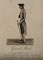 General John Reid, a very thin man. Engraving, 1813. Wellcome V0007210.jpg