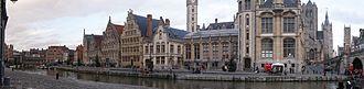 Metropolitan areas in Belgium - Ghent