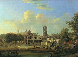Pieter-Frans De Noter - Ghent, episcopal palace, 1819