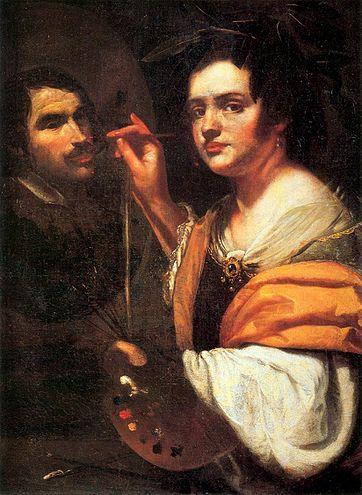 Self Portrait Artemisia Gentileschi Rome Wikipedia