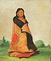 George Catlin - Mong-shóng-sha, Bending Willow, Wife of Great Chief - 1985.66.98 - Smithsonian American Art Museum.jpg