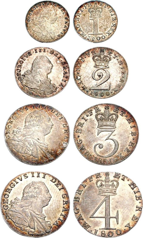 George III Maundy 1800 722666