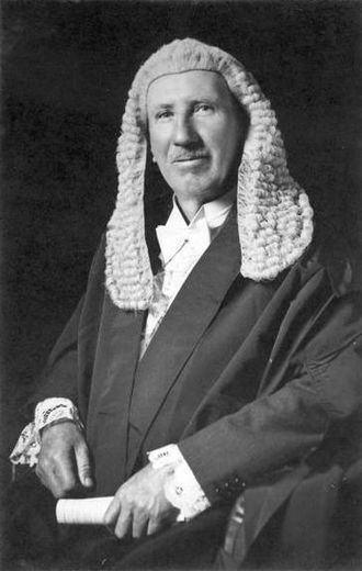 Speaker of the Australian House of Representatives - George Mackay as Speaker (1932–1934), wearing the full traditional dress.