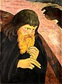 Georges Lacombe, 1894, Le nabi à la barbe rutilante (Portrait de Paul Sérusier), egg tempra on canvas, 73.5 x 50 cm, Musée Départemental Maurice Denis.jpg
