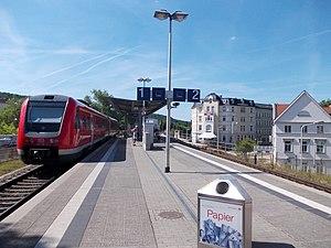 Gera Süd–Weischlitz railway - Gera Süd halt
