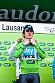 Geraint Thomas (maillot vert) - TDR 2012.jpg