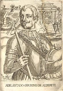 Jerónimo de Alderete Spanish conquistador