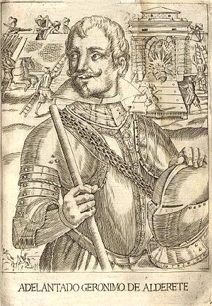Jerónimo de Alderete - Image: Geronimo de Alderete